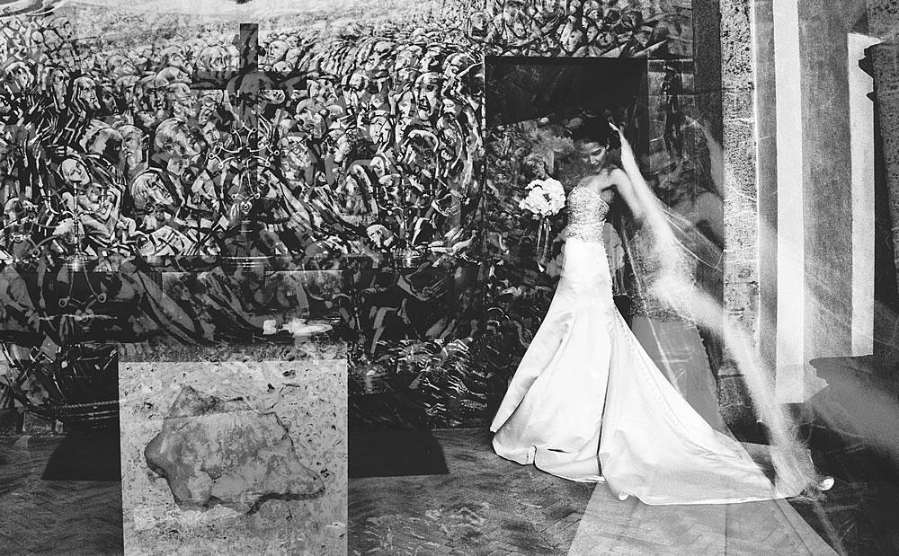 Wedding in Siena Tuscany Italy by Italian wedding photographer